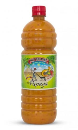 Hot Delight Papaya 1 liter bottle